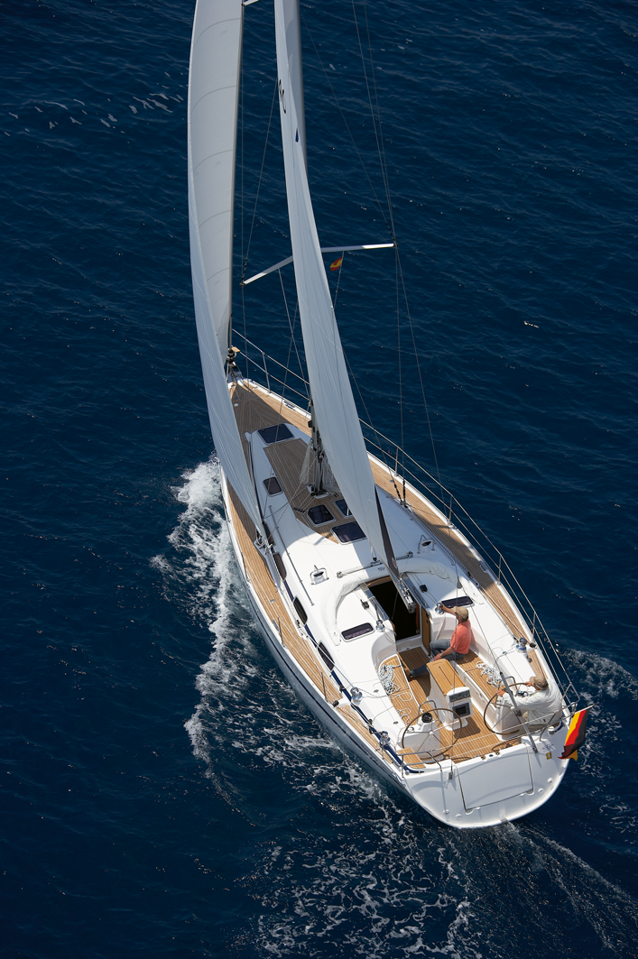 bavaria cruiser 40 unter segel