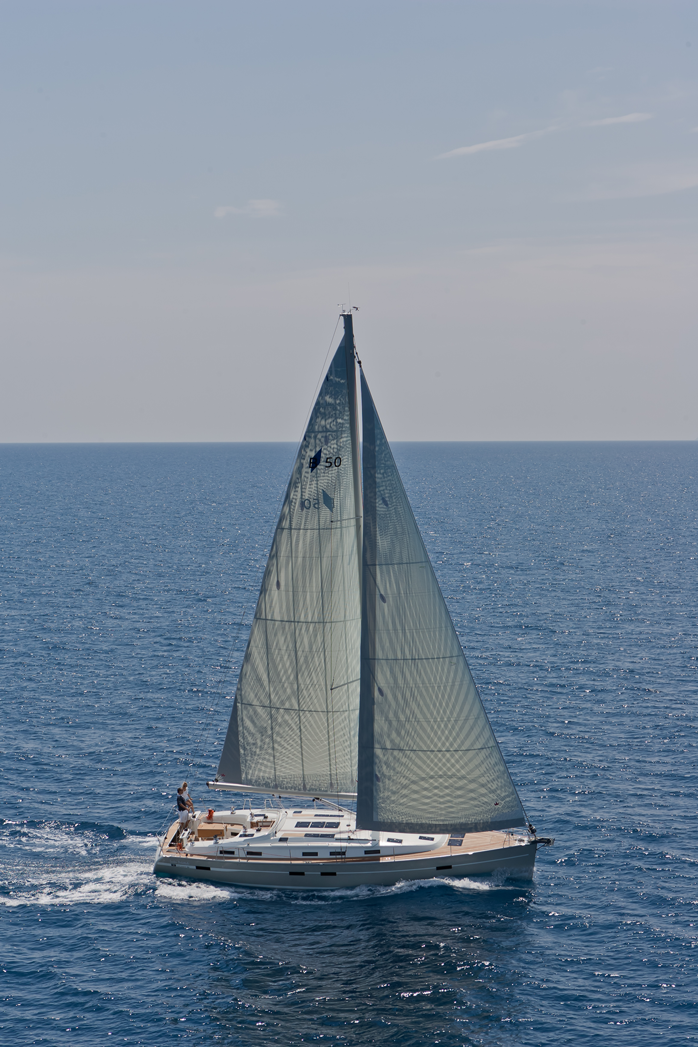 bavaria cruiser 50 unter segel