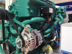 croatia boat show - volvo motorblock für segelyachten D2-60