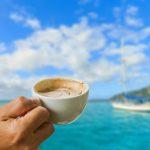 Kaffeetasse als Symbol für das Segelbrunch Angebot