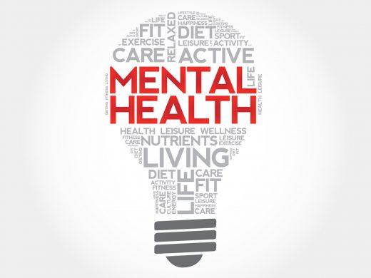 Mental Fit - eine Glühbirna als synonym für unser Gehirn und dessen Stärke