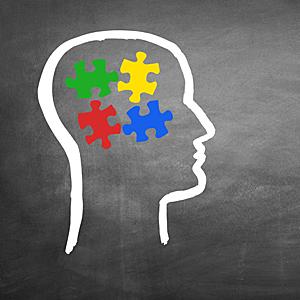Brain Fit - unsere Konzentration und Aufmerksamkeit zu steigern - der Kopf fügt die Puzzelstücke zusammen
