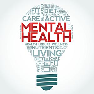 Mental Fit - eine Glühbirne als synonym für unser Gehirn und dessen Stärke