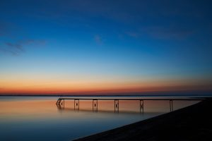 Seebrücke in Dänemark an der Ostsee