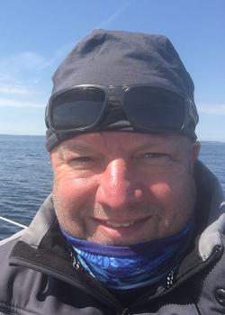 Stefan Skipper der Segelyachten Benno & Hera